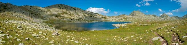Tevno Lake Panorama Royalty Free Stock Photos