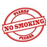 Tevreden nr die - roken Royalty-vrije Stock Fotografie