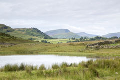 Tewet Tarn Lake, Keswick; Lake District Stock Image