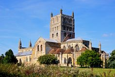 Tewkesbury Abbey. Stock Photography