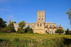 Tewkesbury Abbey. Stock Image