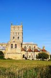 Tewkesbury Abbey. Royalty Free Stock Photo