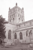 Tewkesbury Abbey Church, England; UK Royaltyfri Bild
