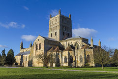 Tewkesbury Abbey Stock Image