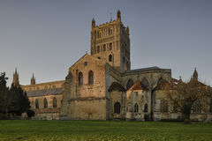 Tewkesbury Abbey Royalty Free Stock Image