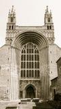Tewkesbury Abbey Norman Arch Imagen de archivo