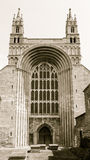 Tewkesbury Abbey Norman Arch Stock Image