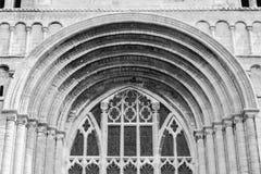 Tewkesbury Abbey Norman Arch A Stock Photos