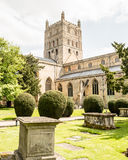 Tewkesbury Abbey Tower A Royalty Free Stock Photos