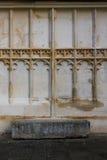 Tewkesbury-Abtei, England, Architekturdetail Stockfotografie