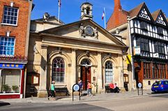 Tewkesbury Town Hall. Royalty Free Stock Image