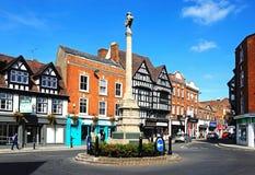 Tewkesbury War Memorial. Royalty Free Stock Photo