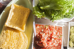Tex mex food Stock Photography