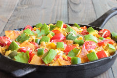 Tex-Mex Migas Stock Images