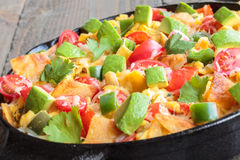 Tex-Mex Migas Stock Photos