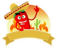 Tex Mex Spice Banner Royalty Free Stock Photos