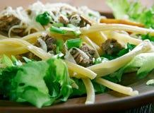 Tex-Mex taco salad Royalty Free Stock Photos
