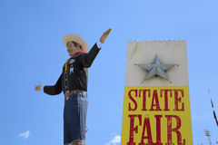 Tex At State Fair Of grande Texas foto de stock