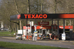 Texaco filling station, Eindhoven, The Netherlands Stock Photography
