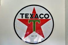 Texaco Podpisuje obrazy royalty free
