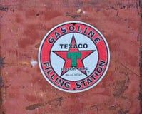 Texaco Sign An American Oil.