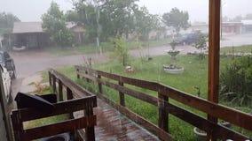 Texad-Regen Stockfotos