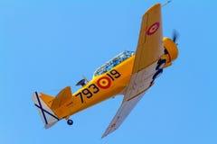 Texan des aéronefs T-6 Photographie stock