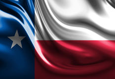 Texan flag Royalty Free Stock Photos