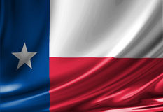 Texan flag Stock Photo