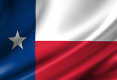 Texan flag Royalty Free Stock Photography