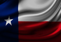 Texan flag Stock Photos