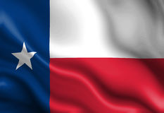 Texan flag Stock Images
