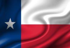 Texan flag Stock Image