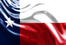 Texan flag Stock Photography