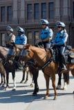 Texan pro-Keusprotest Stock Foto's