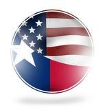 Texan round design Stock Photo