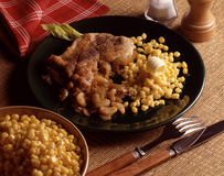 Texan-style turkey escalope Stock Photos