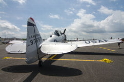 Texan T-6 Fotografia de Stock Royalty Free