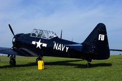 Texan T-6 Fotografia Stock
