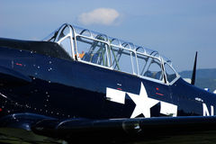 Texan T-6 Fotografie Stock