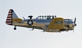 Texan T-6 nord-américain Photographie stock libre de droits