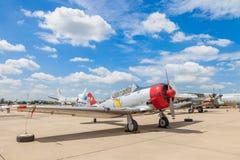 Texan T-6 nord-américain Photos libres de droits