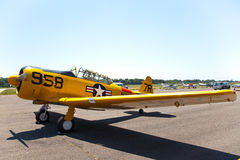 AT-6 Texan Trainer Royalty Free Stock Images