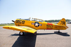 AT-6 Texan Trainer Stock Photography