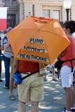 Texaner für das Recht auf Abtreibung Protestor Stockfotografie