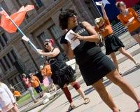 Texaner für das Recht auf Abtreibung Protestor Lizenzfreie Stockfotos