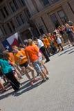Texaner für das Recht auf Abtreibung Protestors Stockfotos