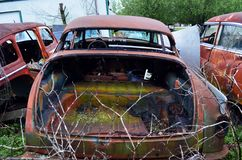 Texarkana auto lineup de vanliga misstänkterna 06 royaltyfria bilder
