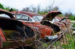 Texarkana auto lineup de vanliga misstänkterna 08 royaltyfria foton