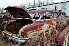 Texarkana auto lineup de vanliga misstänkterna 09 arkivbilder